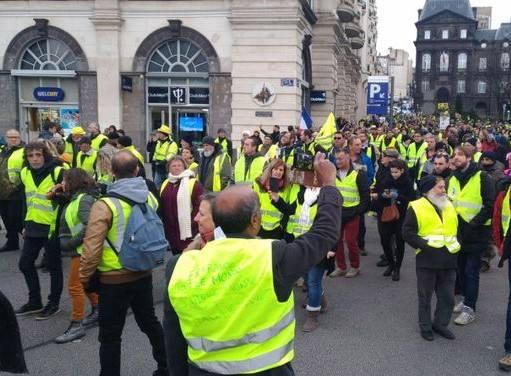 Mouvement des gilets jaunes du Samedi 23 Février