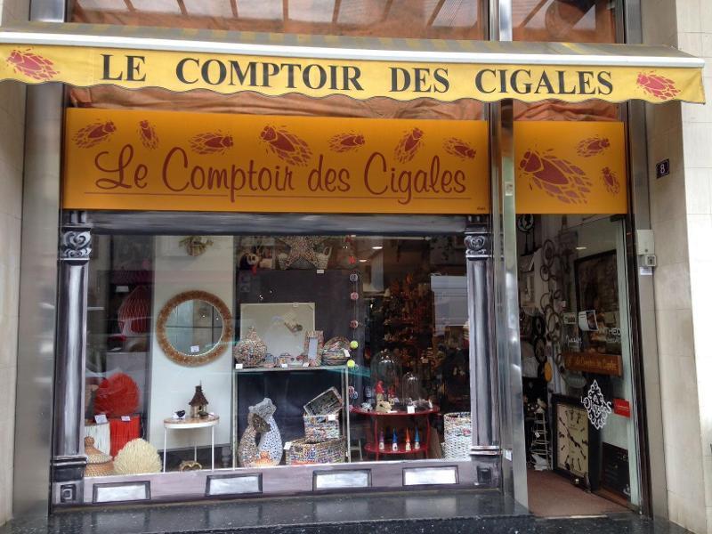 LE COMPTOIR DES CIGALES
