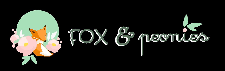 Logo FOX AND PEONIES