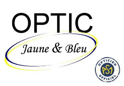 Logo OPTIC JAUNE & BLEU
